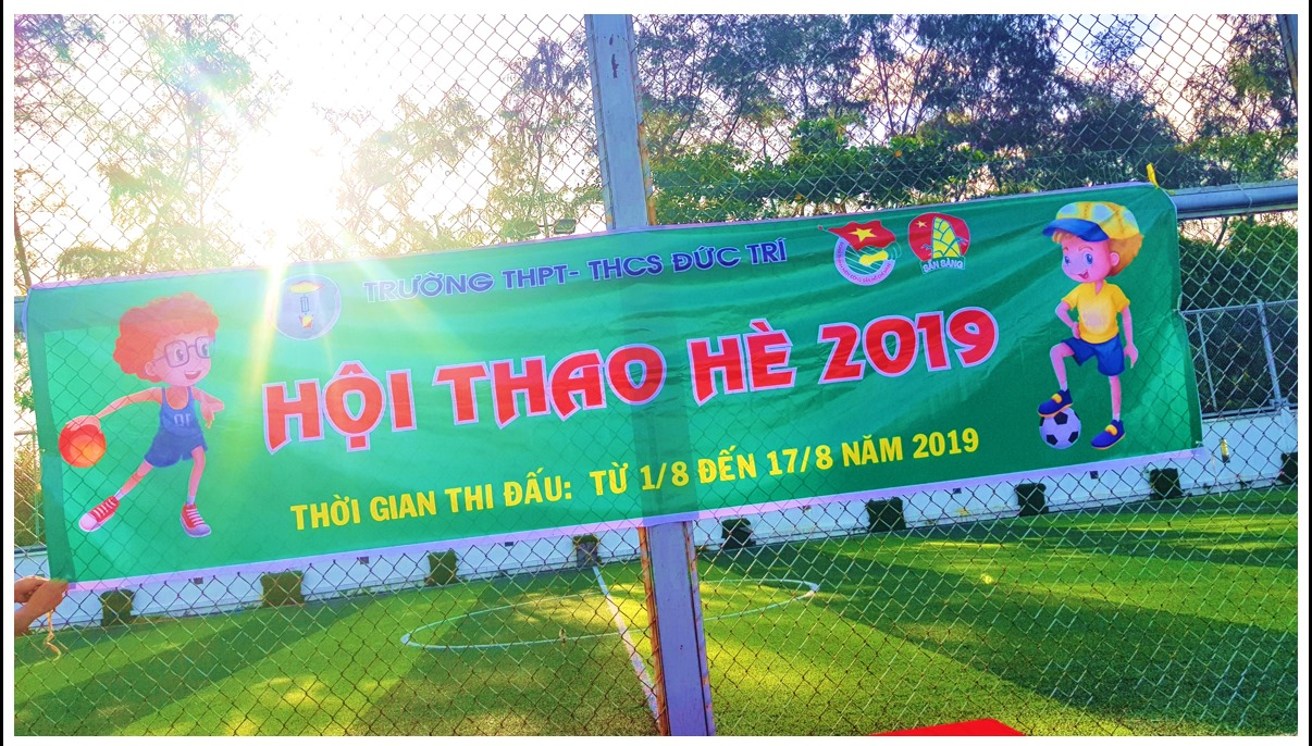 HỘI THAO HÈ 2019