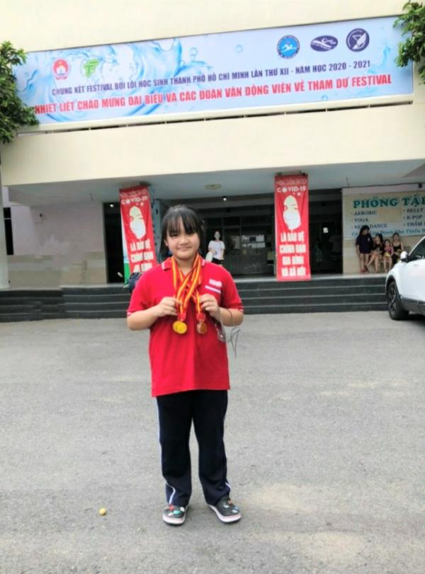 NHỮNG HỌC SINH ĐẠT GIẢI CAO TẠI CÁC KỲ THI OLYMPIC, FESTIVAL THỂ DỤC THỂ THAO